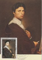 Carte Maximum -    Autoportrait - Ingres - Dahomey