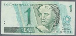 BREZIL P243b 1 REAL (1994) Signature 21  * UNC * N° A3218027129A Le Deuxième - Brésil