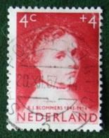 4 + 4 Ct Kinderzegel Child Welfare Kinder Enfant NVPH 702 (Mi 707) 1957 Gestempeld / Used NEDERLAND / NIEDERLANDE - Periodo 1949 - 1980 (Giuliana)