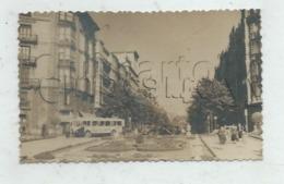 Bilbao  (Espagne, Pais Vasco) : Autobús Trolay Plazza Moyua Y Gran Via De Lope De Haro En 1950 (animado)  PF . - Vizcaya (Bilbao)