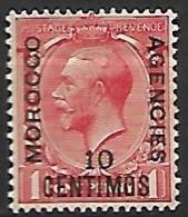 MAROC  -   Bureaux Anglais   -   1914 .  Y&T N° 39 ** - Morocco Agencies / Tangier (...-1958)