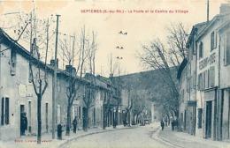 Dpt Div-ref-AM77- Bouches Du Rhône - Septèmes - Poste - Centre  Village - P.t.t. - Postes - Restaurant De La Poste -etat - Otros Municipios
