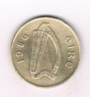 20 PENCE 1986 IERLAND /6484/ - Irland