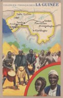 Afrique Occidentale  -   La Guinée -   Pub Produits Du Lion Noir - Guinée