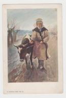 OR714 - UKRAINE - Scène Et Type - Illustration Signée (à Identifier) - Habits Traditionnels - Altenberg -Lwow - Oekraïne