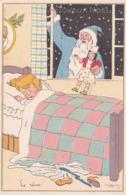 Lot De 3 Cp Lauvey Joyeux Noël. - Künstlerkarten