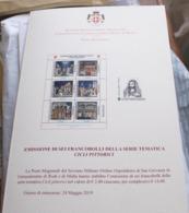 SMOM 2019. GIOTTO CAPPELLA DEGLI SCROVEGNI  OFFICIAL BULLETTIN - Malte (Ordre De)