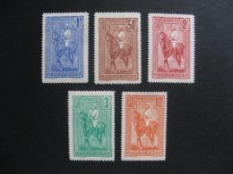 MADAGASCAR:  TB  Série N° 183 Au N° 187, Neufs XX. - Madagascar (1889-1960)