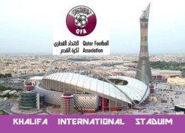 CP. STADE.    DOHA  QATAR  KHALIFA INTERNATIONAL  STADIUM    # CS.191 - Football
