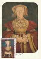 Carte Maximum - Haute Volta - Portrait D'Anne De Clèves - Hans Holbein Le Jeune - Burkina Faso