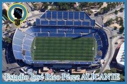 CP. STADE.   ALICANTE  ESPAGNE  ESTADIO  JOSE  RICO  PEREZ  # CS.194 - Football