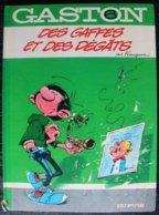 BD GASTON - 6 - Des Gaffes Et Des Dégâts - Rééd. 1985 - Gaston