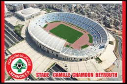 CP. STADE.  BEYROUTH   LIBAN  STADE CAMILLI  CHAMOUN   # CS.197 - Football