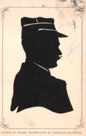 Silhouettes - N°60469 - Clausen Et Nolden, Silhouettistes De Copenhague (Danemark) - Homme Pourtant Un Uniforme - Silhouette - Scissor-type