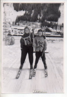 REF EX2 : Photo Originale 10,5 X 15 Arlberg ? Skieur Tire Fesses - Lieux