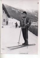 REF EX2 : Photo Originale 10,5 X 15 Arlberg ? Skieuse - Lieux