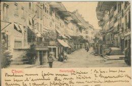 Thun V. 1905  Hauptgasse Mit Gasthof,Friseur,Hotel  (57450) - BE Berne