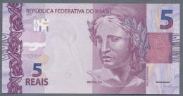 Brésil P 253a 5 Reais  01/2010 * UNC * Série AA  N° 028957665 Le 1er - Brésil