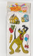 Pochette De 6 Stickers PLUTO DISNEY SX 21993 Date Des Années 1990 - Scrapbooking