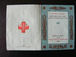 Carnet Croix-Rouge De 1964, Bloc De 4TP N° 1434 Uniquement, Dominique LARREY, Oblitération Rouge - Carnets