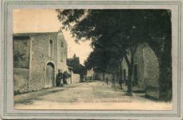 CPA - VISAN (84) - Aspect De La Route D'Orange Et Du Quartier Des Ecoles En 1925 - France
