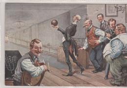 Joueurs Au Bowling.  Scan - Thiele, Arthur
