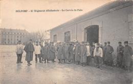 Belfort (90) - 42e Régiment D'Infanterie - La Corvée De Pain  - 1915 - Belfort - Ville
