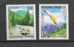 2004 MNH Bosnia Servische Post Postfris** - 2004