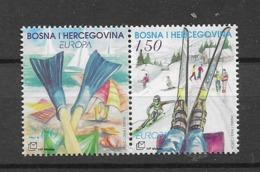 2004 MNH Bosnia Croatian Post Postfris** - 2004