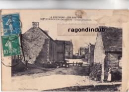 CPA - 56 - PERSQUEN (Morbihan 544 Hab) - La Rue Principale - CARTE RARE Photo Bocquenet Voy 1926 - Autres Communes