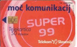 Slovenia, 50 Units, Chip, Telekom - Slovenië