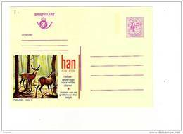 Publibel Neuve N° 2602 N (HAN SUR LESSE, Domaine Des Grottes Et Parc à Gibier (cerf,chevreuil) - Stamped Stationery