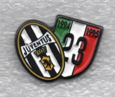 Juventus Torino Calcio Scudetto 23° Ufficiale Giemme Juve Torino Soccer Pins Spilla Italy Toro Granata - Calcio