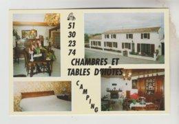 CPM SAINT MICHEL DE L'HERM (Vendée) - 4 Vues Chambres Et Tables D'hôtes Mr Et Mme Michel BROIS 41 Rue Georges Clémenceau - Saint Michel En L'Herm