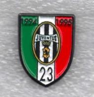 Juventus Torino Calcio Scudetto 23° Ufficiale Giemme Torino Juve Soccer Pins Spilla Italy Toro Granata - Calcio