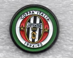 Juentus Torino Calcio COPPA ITALIA 1994-1995 Ufficiale Giemme Torino Soccer Pins Spilla Italy Toro Granata - Calcio