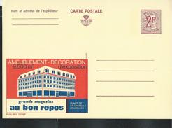 Publibel Neuve N°  2328 ( Ameublement - Décoration: AU BON REPOS -  Bruxelles) - Stamped Stationery