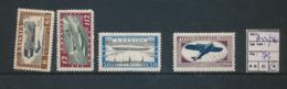 LATVIA  AIR YVERT 33/36 LH - Lettonie