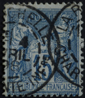-Sage N°90 Type Ll. O .(CAD ) LA ROCHELLE 4 Avril 1898. - 1876-1898 Sage (Type II)