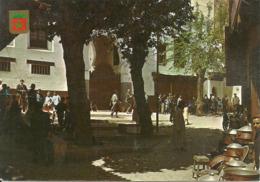 Fes (Tunisie) Place Des Dinadiers, Dinadiers Square - Tunisia