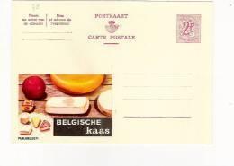 Publibel Neuve N° 2071 (Belgische  Kaas)fromages Belges - Stamped Stationery