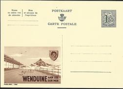 Publibel Neuve N° 1591 ( WENDUINE Aan Zee) - Stamped Stationery
