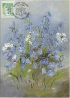 Carte Maximum - Finland - Fleurs - Campanula Rotindifolia - Maximum Cards & Covers