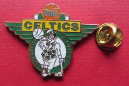Pin's,Sport,Basketball,NBA CELTICS,mascotte,ball - Basketball
