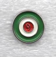 Juentus Torino Calcio N,9 Ufficiale Giemme Torino Soccer Pins Spilla Italy Toro Granata - Calcio