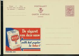 Publibel Neuve N° 2014  ( RIZLA  La Cigarette Du Siècle; Cancer Assuré !!) - Stamped Stationery