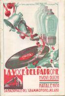 PUB 445 - LISTINO MENSILE - LA VOCE DEL PADRONE - DICEMBRE 1931 - 20 Pag. - Advertising