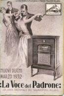 PUB 446 - LISTINO MENSILE - LA VOCE DEL PADRONE - MARZO 1932 - 24 Pag. - Advertising
