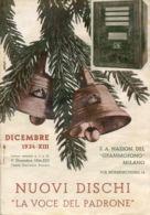 PUB 448 - NUOVI DISCHI - LA VOCE DEL PADRONE - DICEMBRE 1934 - 16 Pag. - Advertising