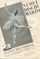 PUB 449 - NUOVI DISCHI - LA VOCE DEL PADRONE - MARZO 1935 - 24 Pag. - Advertising